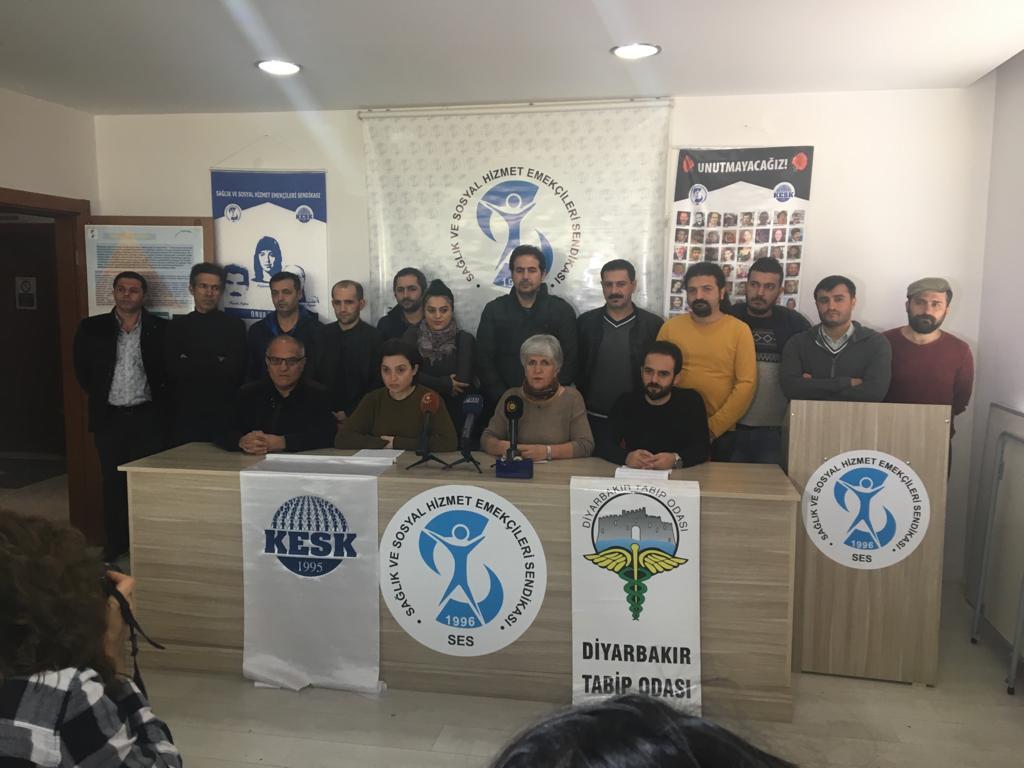 KESK'e yönelik gözaltılara Diyarbakır'dan tepki