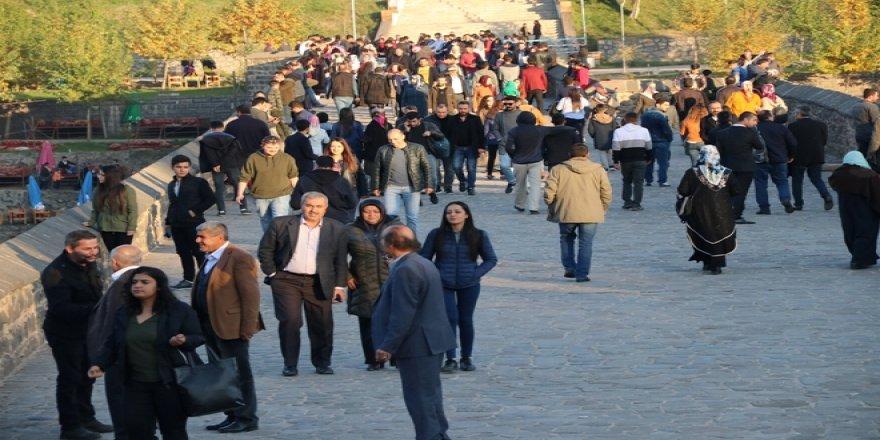 Diyarbakır'a gelenturist sayısı arttı