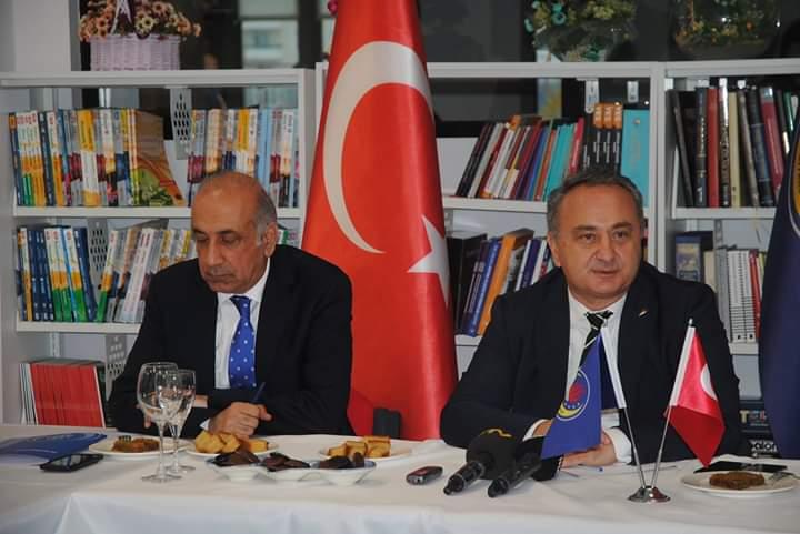 TED Yöneticileri Diyarbakır basını ile bir araya geldi