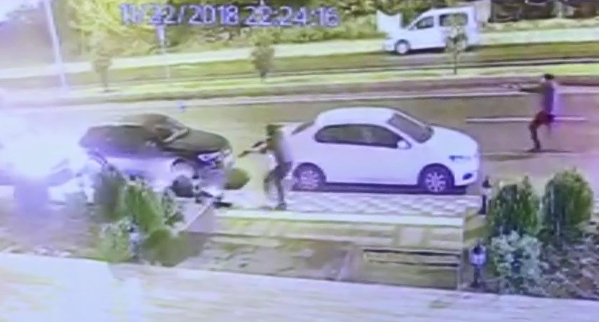 Diyarbakır'da 1 kişinin öldüğü silahlı kavganın görüntüleri ortaya çıktı