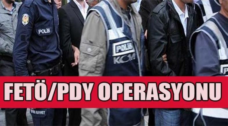 Diyarbakır merkezli 15 ilde FETÖ operasyonu
