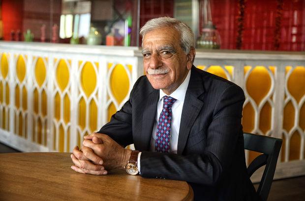 Merakla beklenen Ahmet Türk, adaylığını açıkladı