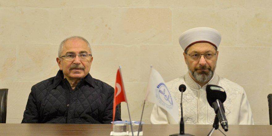Diyanet Başkanı Erbaş Mardin'de
