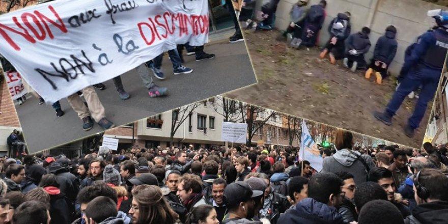 Fransa'da sarı yelekliler eylemine liseliler de karıştı