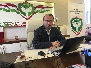 Amedspor Başkanı: Siyasi kararlarla taraftarlarımız deplasmanlara alınmıyor