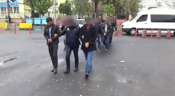 Şanlıurfa'da, gözaltı operasyonu 10 kişi tutuklandı