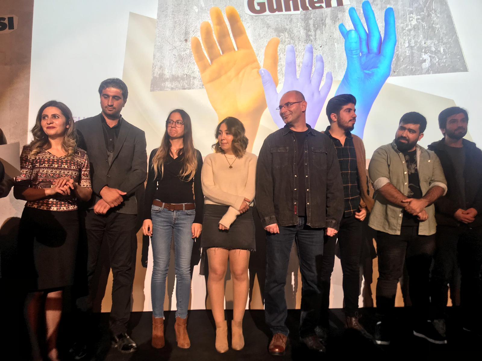 """Gökhan Çetin'e, """"Vatansız"""" filmi ile İnsan Hakları ödülü"""