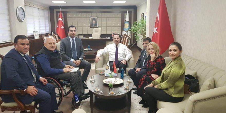 """""""Erişilebilir Turizm Projesi"""" Diyarbakır'da tanıtıldı"""