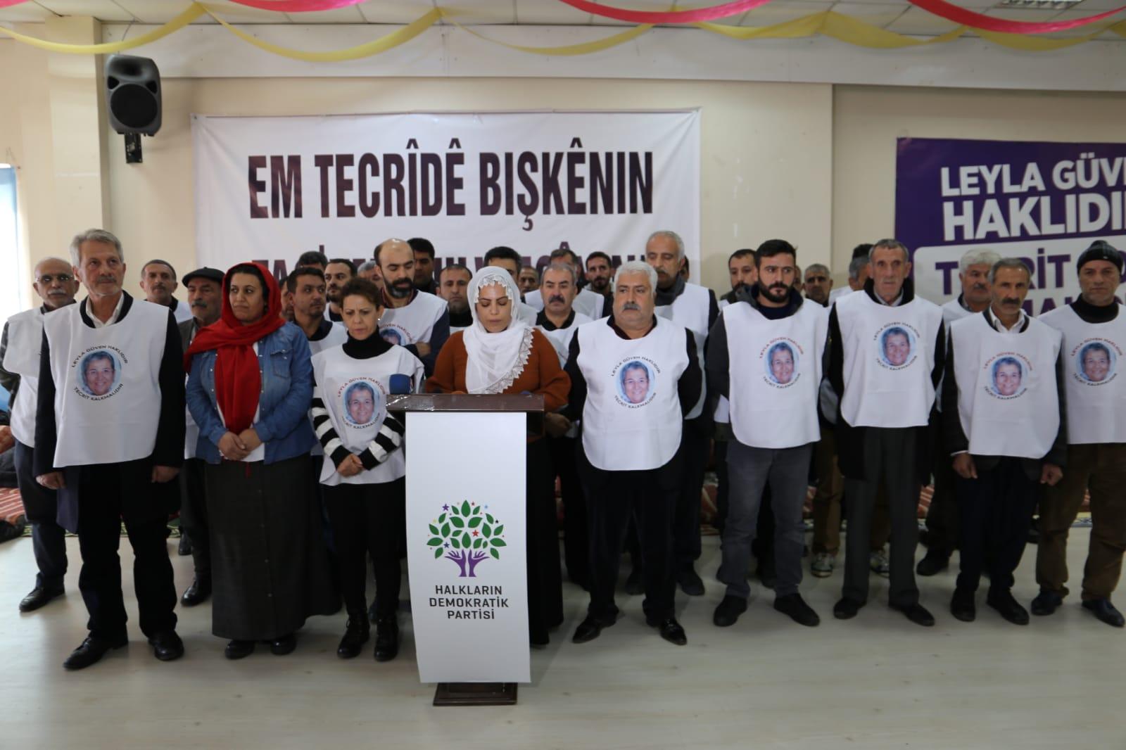 50 kişi daha açlık grevine başladı