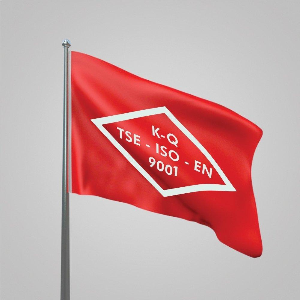 DÜ'ye kalite belgesi ve bayrağı
