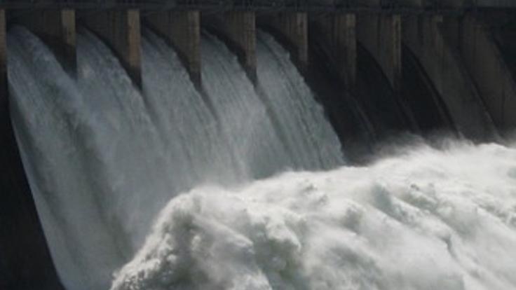 VİDEO- Baraj Kapağı Koptu, 5 İlçe Uyarıldı