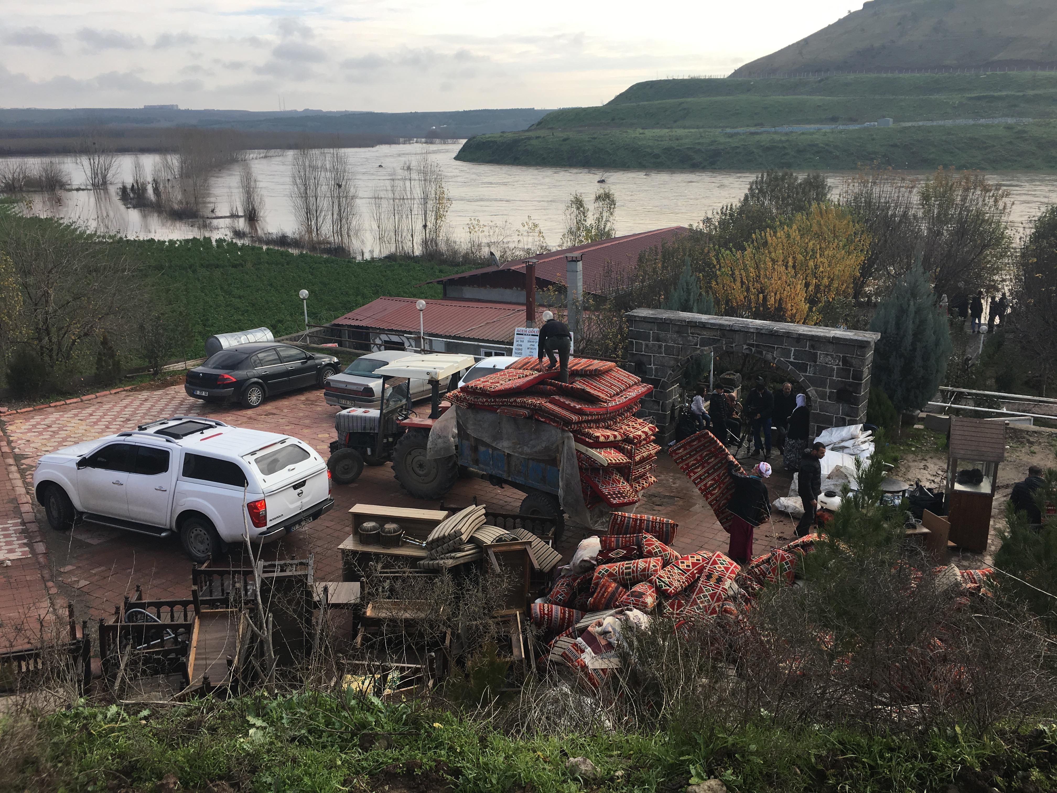 VİDEO- Baraj patladı, çok sayıda yer su altında kaldı; Bölgede son durum ne?