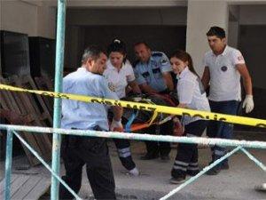 Bismil'de bir çocuk inşaattan düşerek öldü