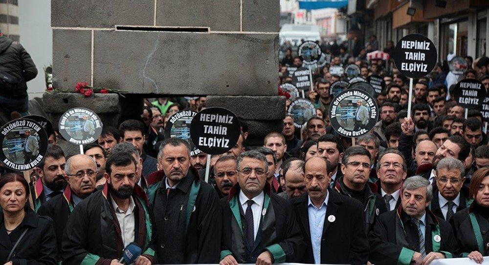 Baro Başkanı Aydın: Tahir Elçi'nin failleri belli
