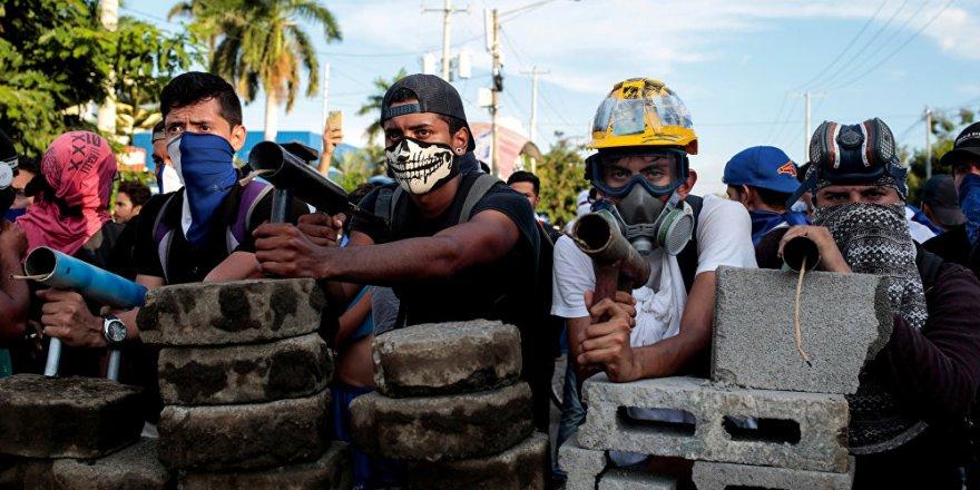 Nikaragua'da muhalif medya kuruluşuna polis baskını