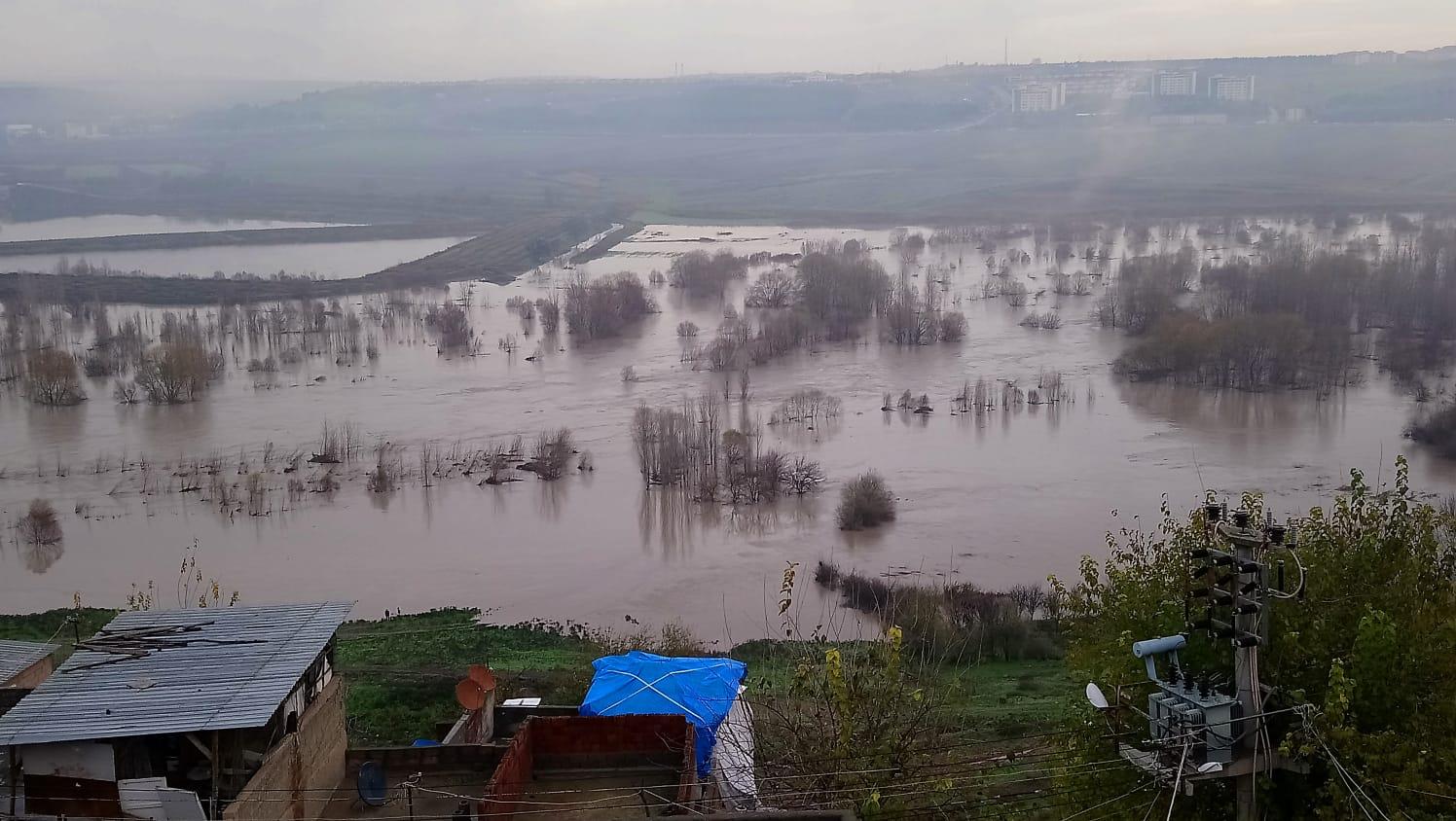 Diyarbakır'da sel uyarısı!