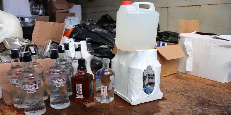 Diyarbakır'da kaçak içki operasyonu