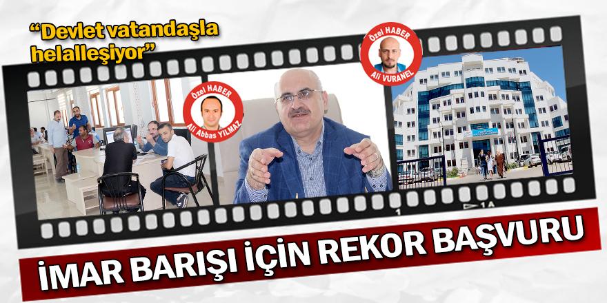 Diyarbakır'da İmar Barışı için 10 bin kişi başvurdu