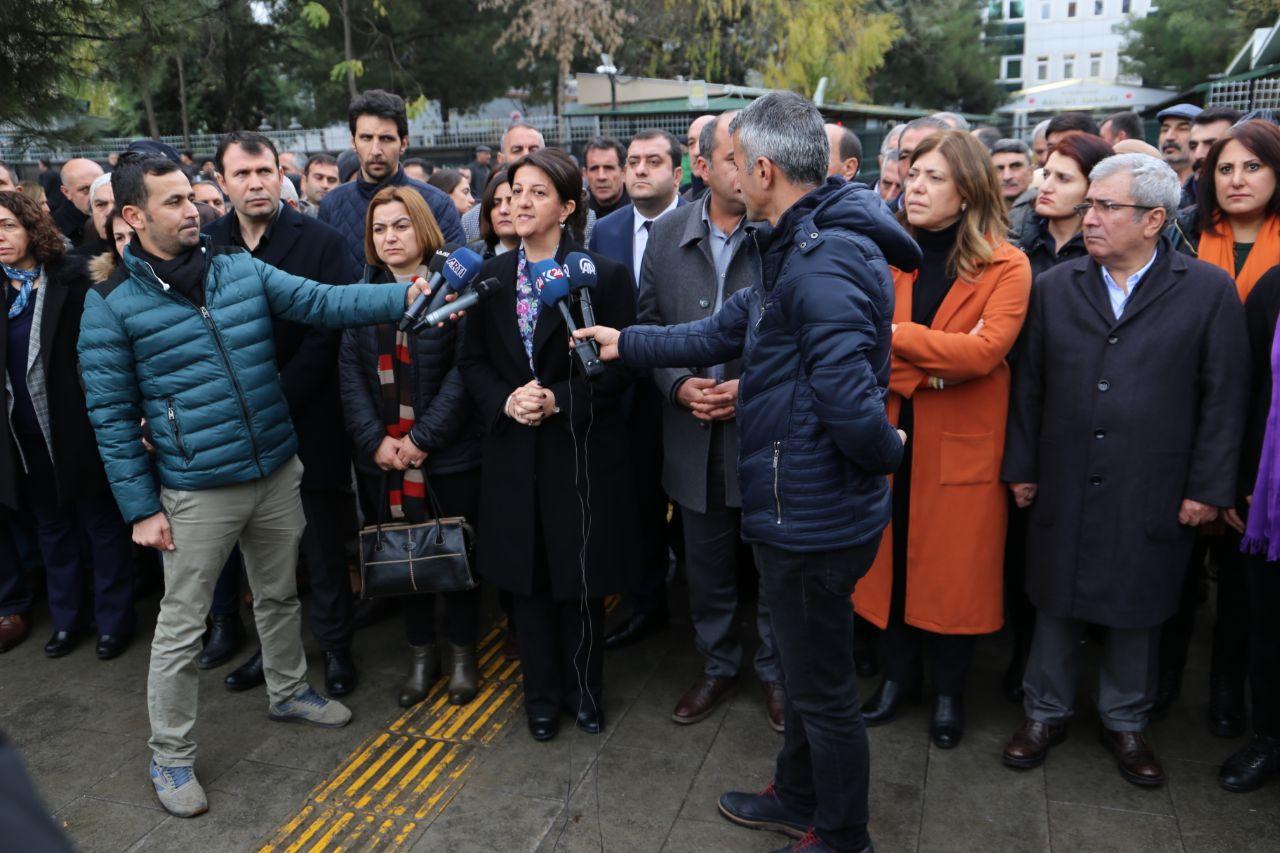 Buldan, Diyarbakır'da konuştu: Güven'in talebi Türkiye'nin talebi olmalı