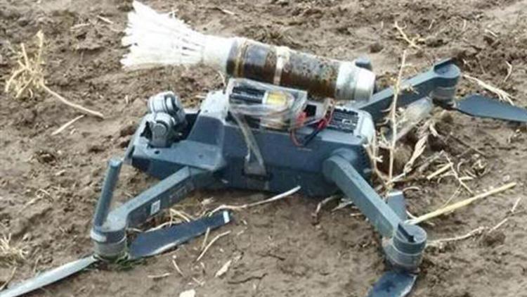 Şırnak'ta askeri üs bölgelerine dronlu saldırı girişimi