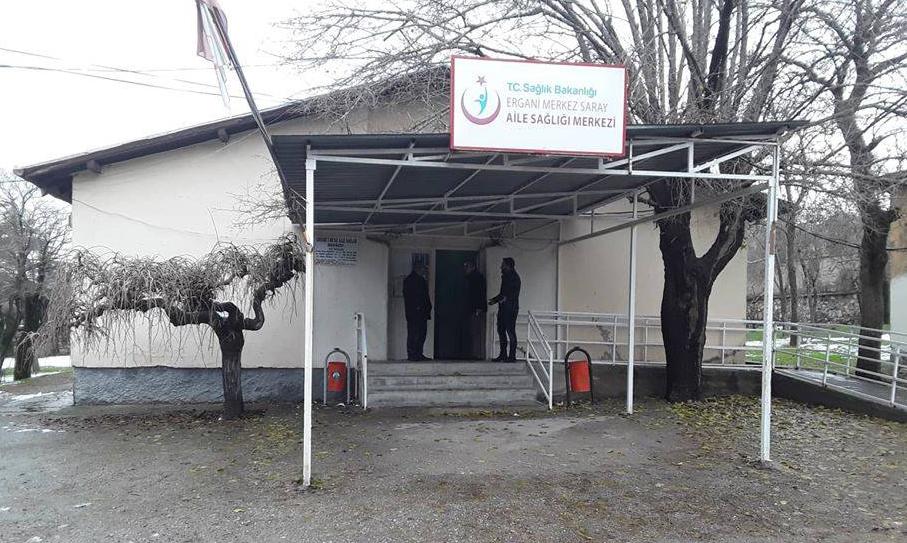 Hırsızlar Diyarbakır'da sağlık ocağı soydu