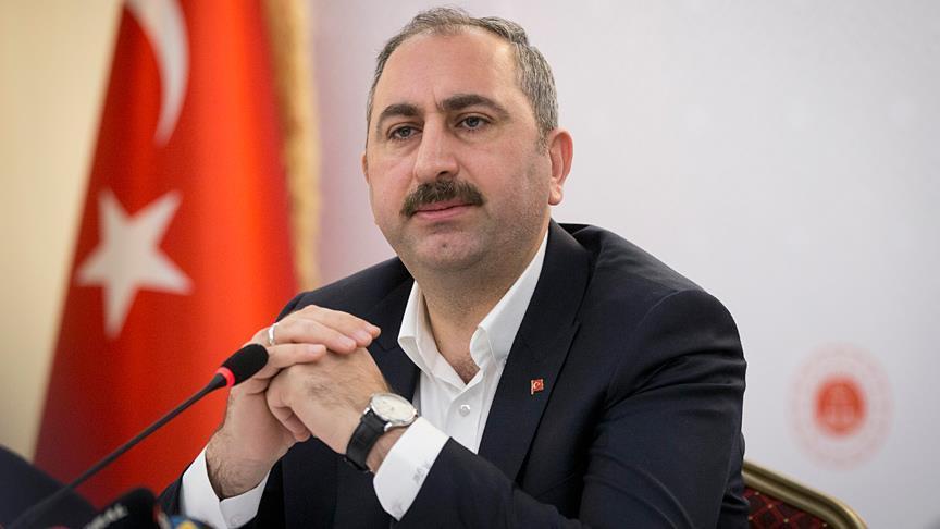 Adalet Bakanı Gül: ABD'li heyetin şahit olduğu konularla soruşturma farklı gelişmelere gebe