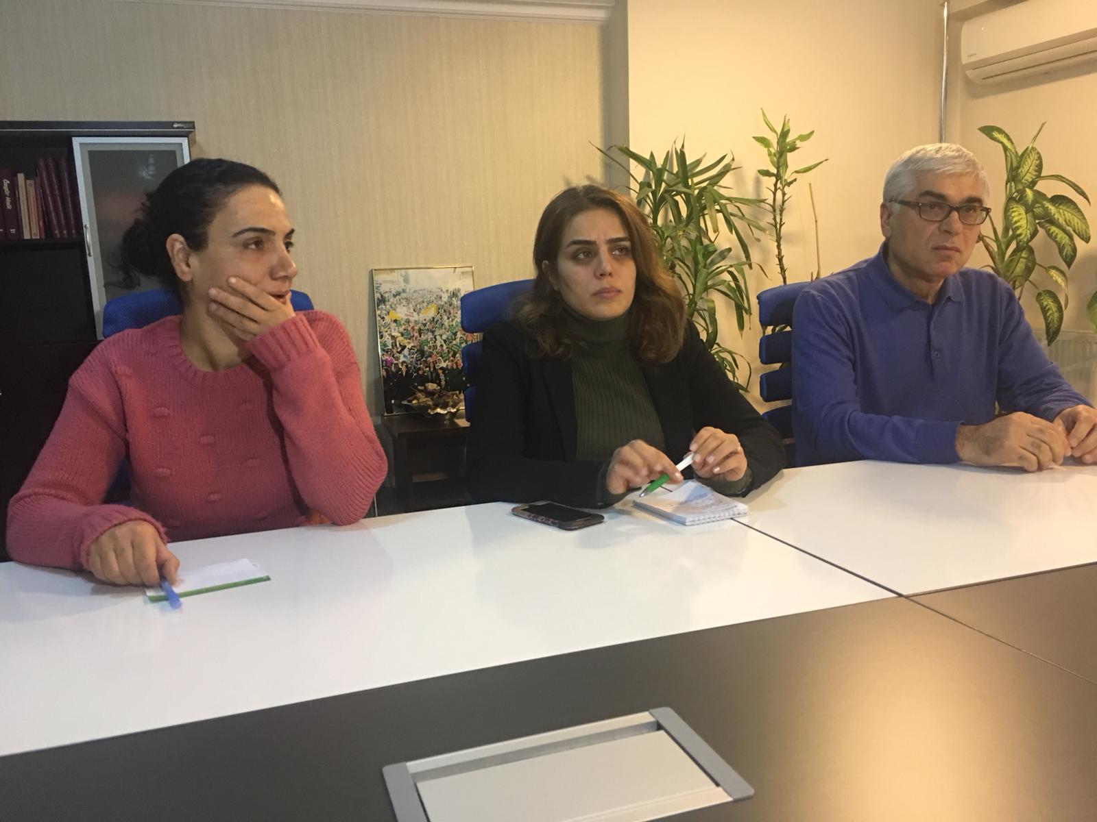 VİDEO- Açlık grevindeki Leyla Güven için çağrı