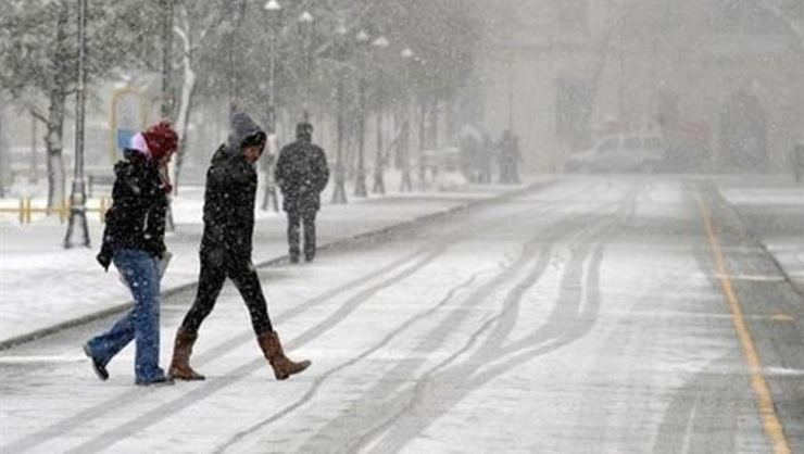Diyarbakır için kar uyarısı