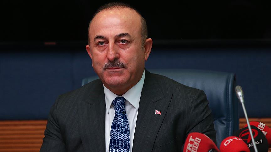 Çavuşoğlu: Bizim YPG'ye yönelik harekatımız ABD'nin çekilmesine bağlı değil