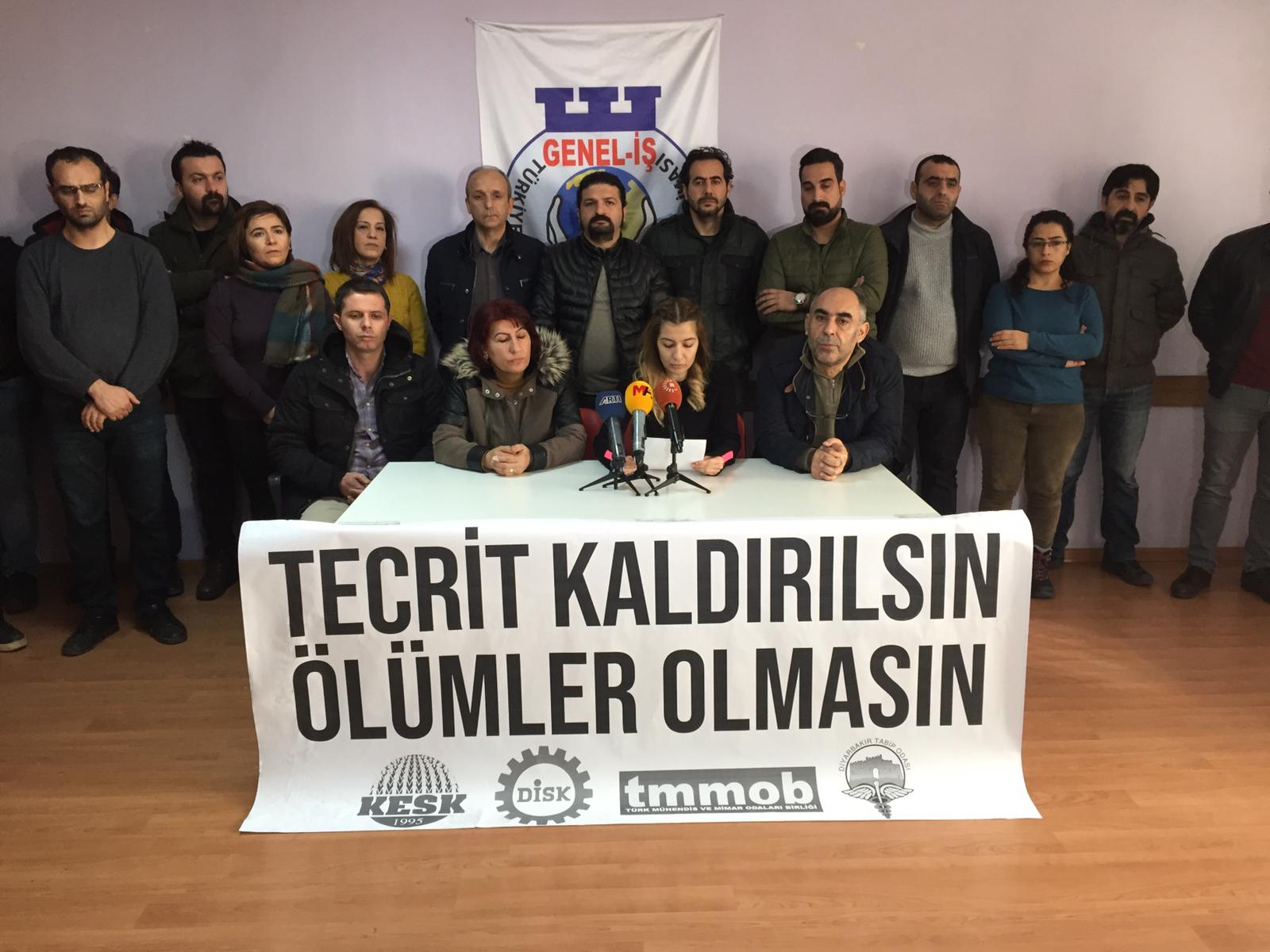 Diyarbakır'daki emek örgütlerinden Leyla Güven çağrısı