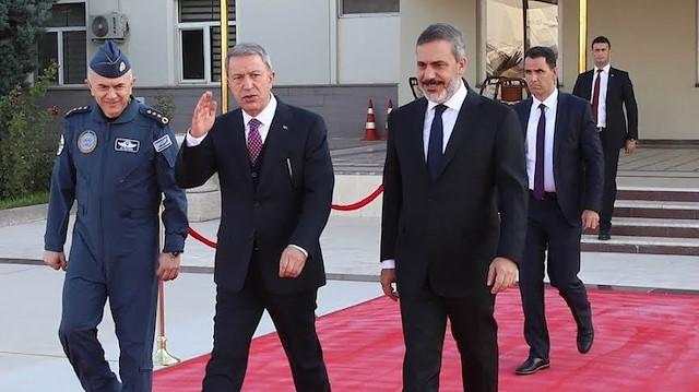 MİT Başkanı, Savunma Bakanı ve komuta kademesi sınırda