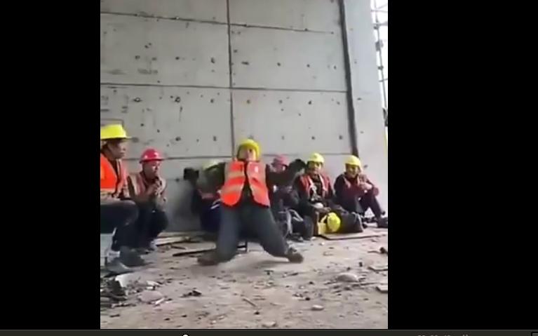 VİDEO- Michael Jackson dansı yapan Çinli işçi dünyada fenomen oldu
