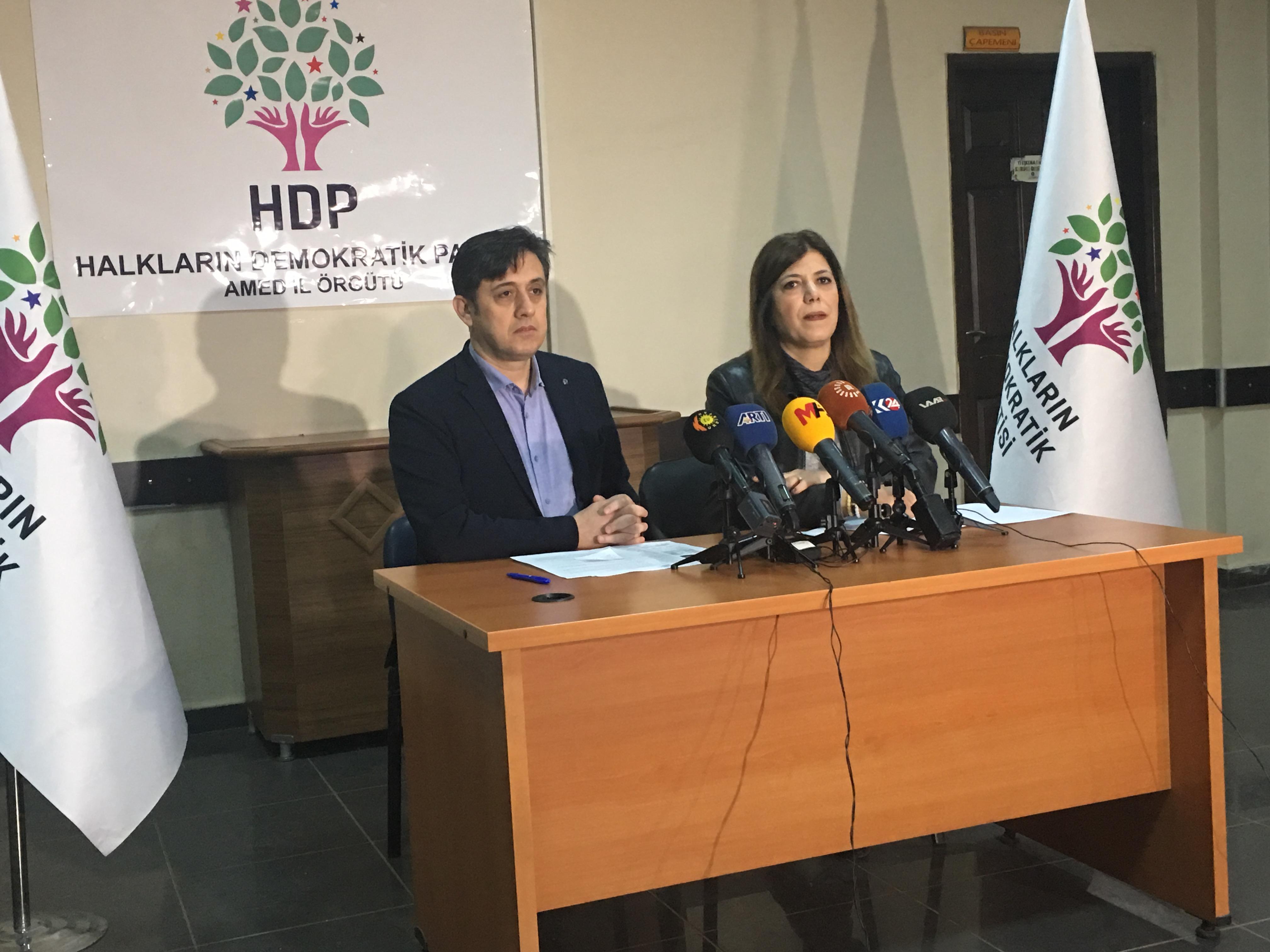 VİDEO- HDP'den seçmenlerine seçim güvenliği çağrısı