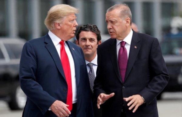 """Erdoğan ve Trump """"güvenli bölge"""" planını görüştü"""
