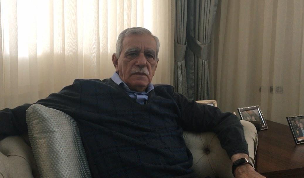VİDEO- Ahmet Türk: Bu seçim Kayyumlar'a karşı bir rövanş seçimi olacak