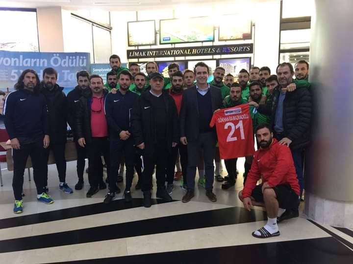 Diyarbekirspor'dan Özdemir ve Limak'a teşekkür