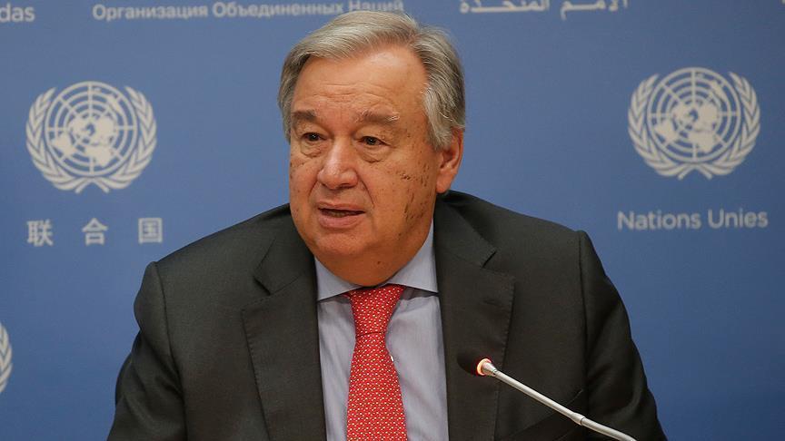 BM Genel Sekreteri'nden Türkiye açıklaması