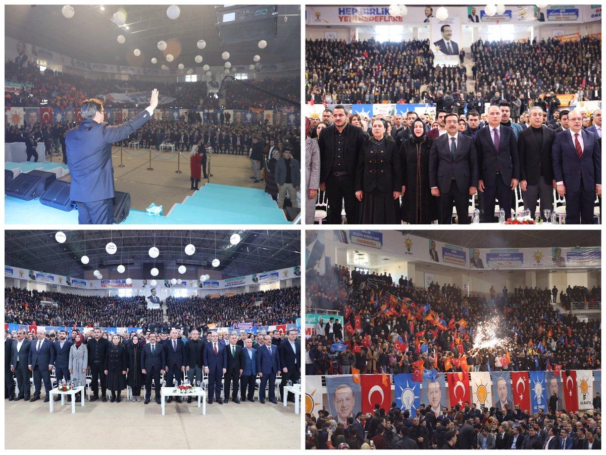 AK Parti, tanıtım toplantısıyla Diyarbakır'da 17 ilçenin adaylarını açıkladı