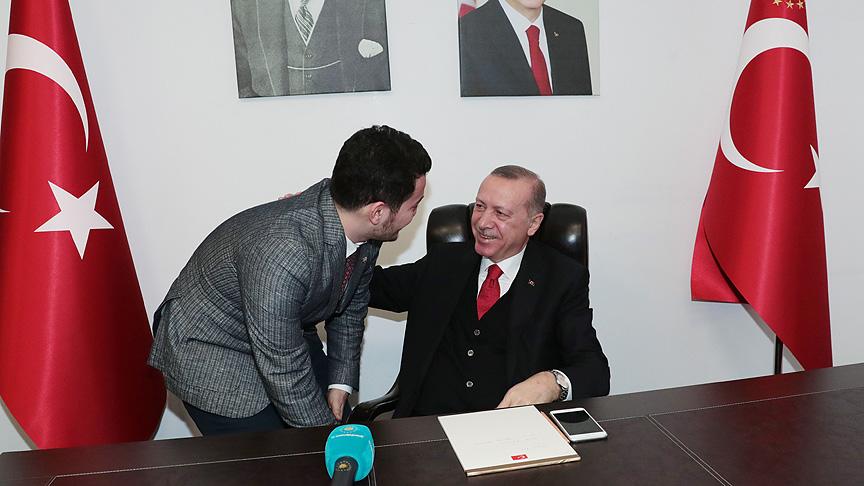 Cumhurbaşkanı Erdoğan genç doktor için için kız istedi