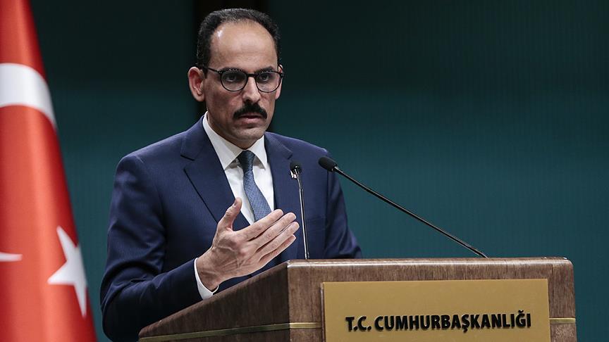 Cumhurbaşkanlığı Sözcüsü Kalın'dan McGurk'e PKK yanıtı