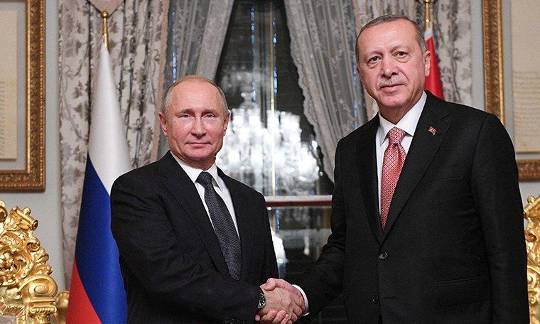 Cumhurbaşkanlığı'ndan Erdoğan-Putin görüşmesine ilişkin açıklama