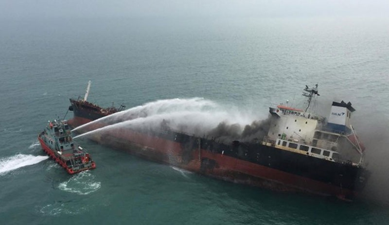 Boğaz'da gemiler çarpıştı: 10 kişi öldü
