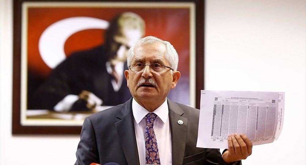 YSK Başkanı Güven'den sahte seçmen açıklaması