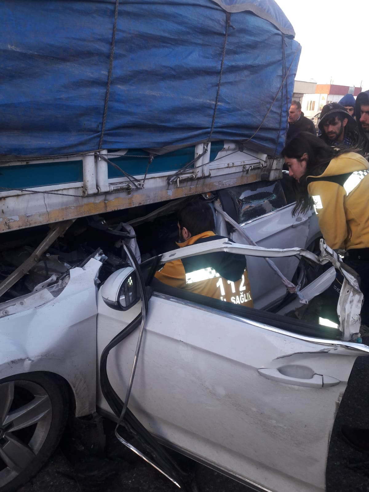 Şırnak'ın İdil ilçesinde feci kaza!