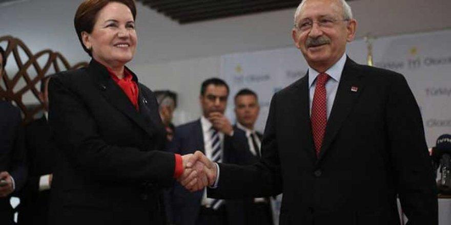 CHP ile İYİ Parti yerel seçim adaylarında anlaştı