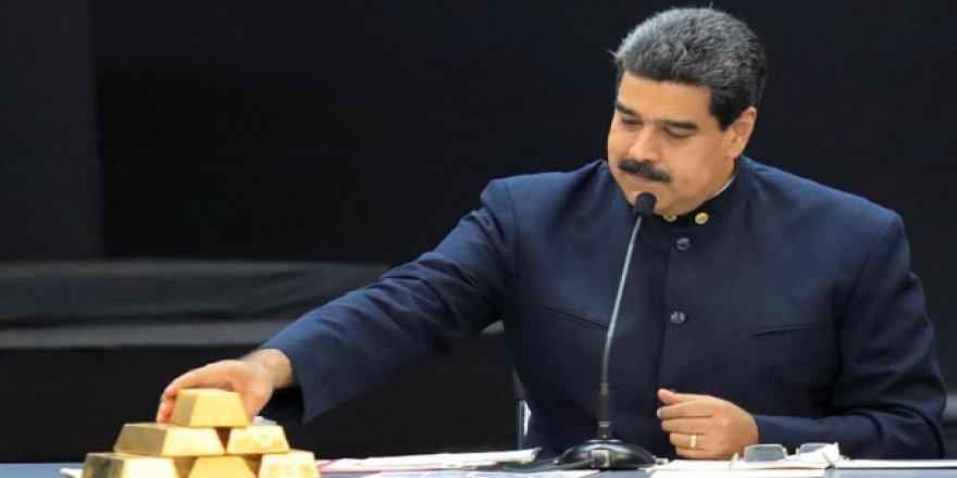 İngiltere'nin Venezuela'nın altınlarına el koyduğu iddia edildi