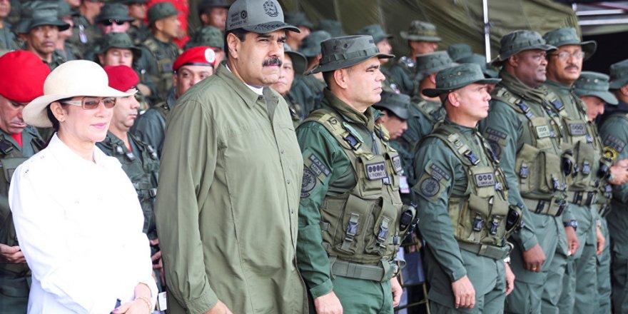 """""""Maduro'yu koruması için Venezüella'ya asker gönderdiğimiz yalan"""""""