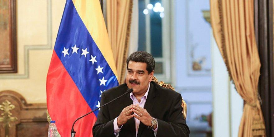 Maduro: Muhaliflerle görüşmeye hazırım