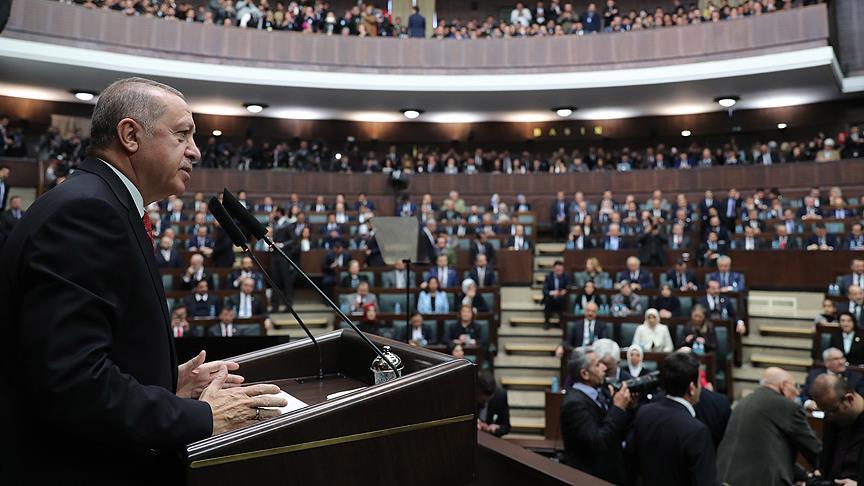 Cumhurbaşkanı Erdoğan:Hiçbir yaptırım bizi yolumuzdan alıkoyamaz