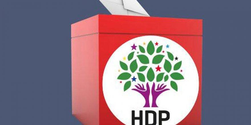 HDP İki ilde aday çıkarmadı